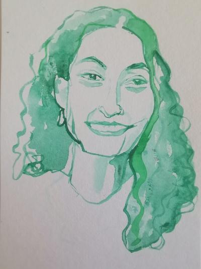 Leila Ghaddar portrait